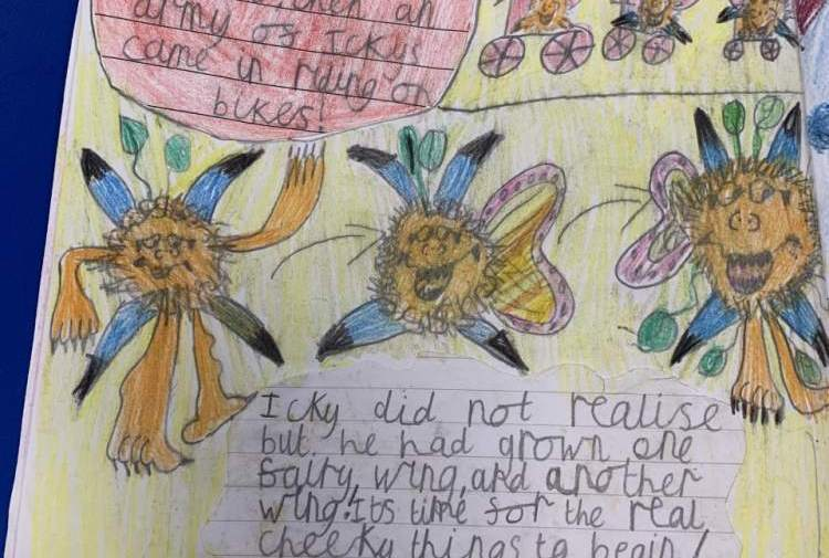 A brilliant story sent in by Lottie!